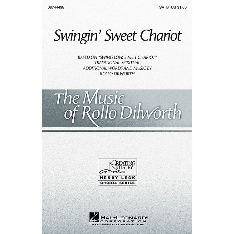 Hal LeonardSwingin' Sweet Chariot SAB Arranged by Rollo Dilworth