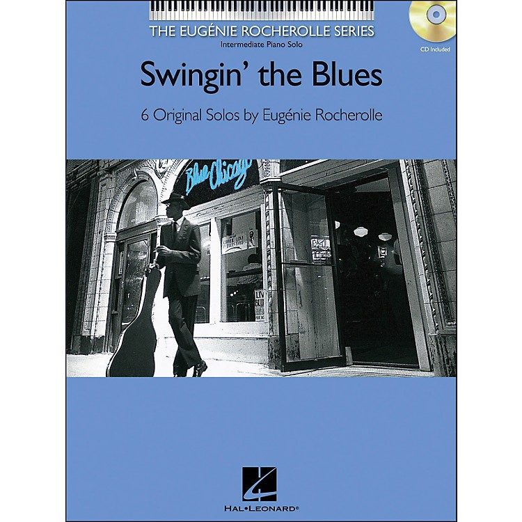 Hal LeonardSwingin' The Blues Book/CD Eugenie Rocherolle Series arranged for piano solo