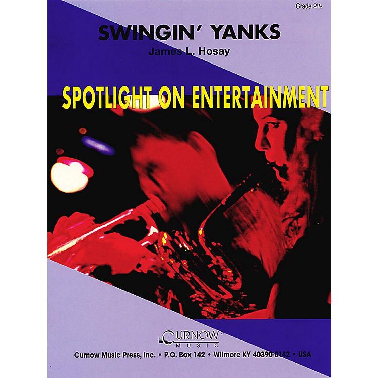 Hal LeonardSwingin' Yanks (Grade 2.5 - Score Only) Concert Band Level 2.5 Composed by James L. Hosay