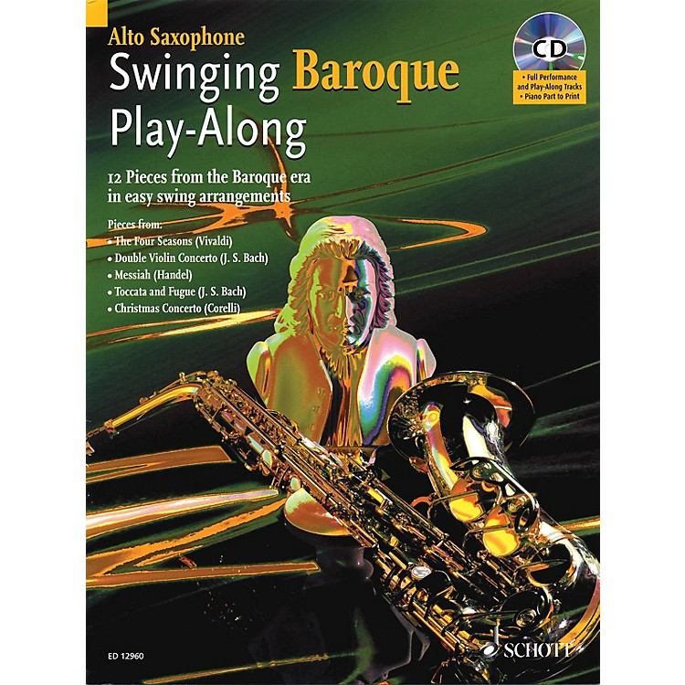 SchottSwinging Baroque Play-Along Misc Series Book with CD