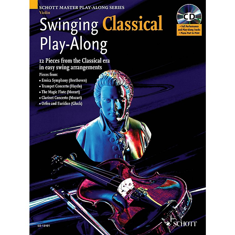 SchottSwinging Classical Play-Along String Solo Series Softcover with CD