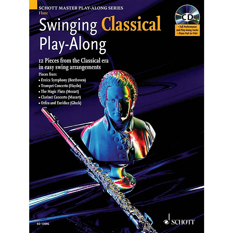 SchottSwinging Classical Play-Along Woodwind Solo Series Softcover with CD