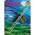 Hal Leonard Swinging Folksongs Play-along For Flute Bk/CD With Piano Parts To Print Woodwind Solo Series