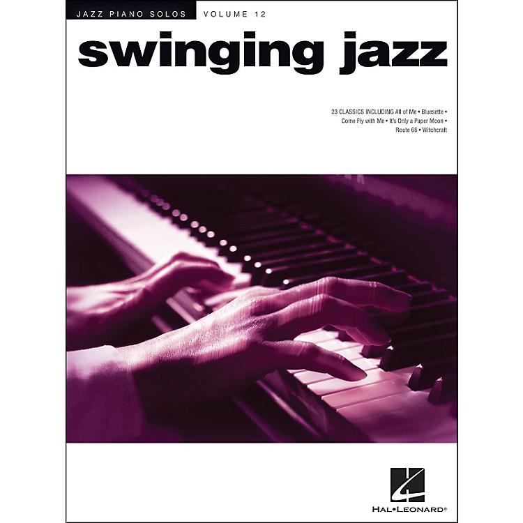 Hal LeonardSwinging Jazz - Jazz Piano Solos Series Volume 12