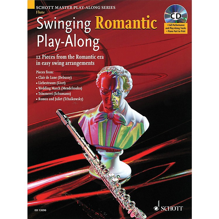 SchottSwinging Romantic Play-Along Instrumental Folio Series Softcover with CD