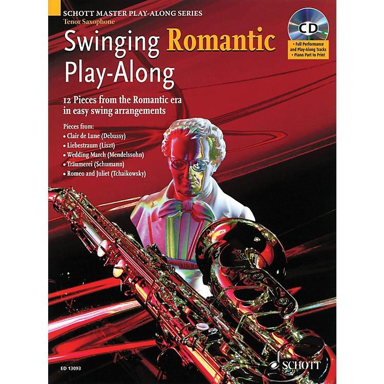 SchottSwinging Romantic Play-Along Instrumental Folio Series