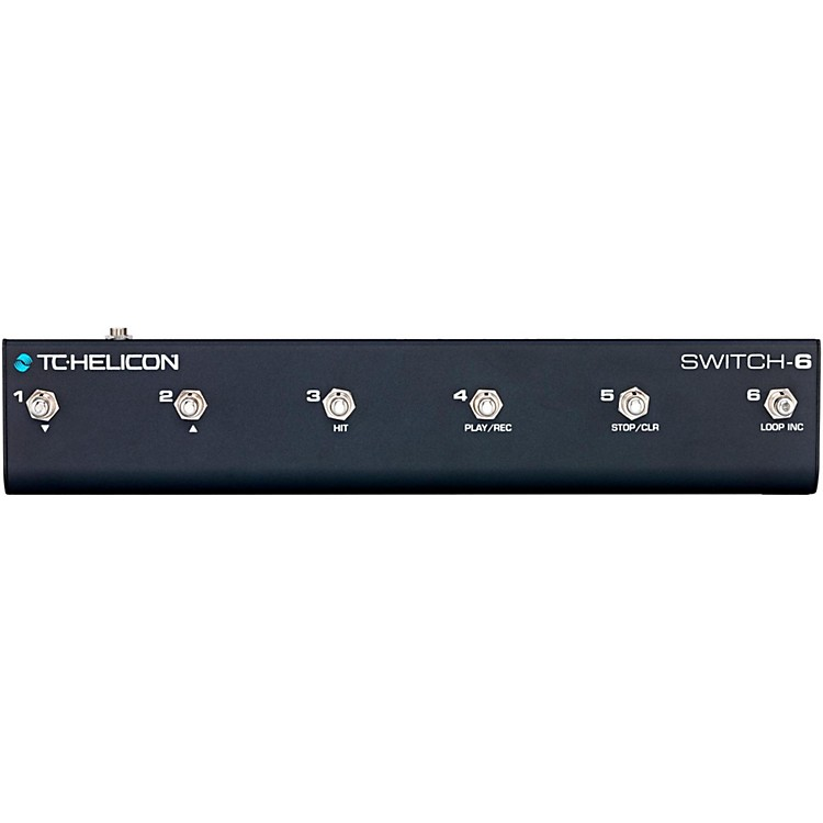 TC Helicon Switch-6 Guitar Footswitch Black