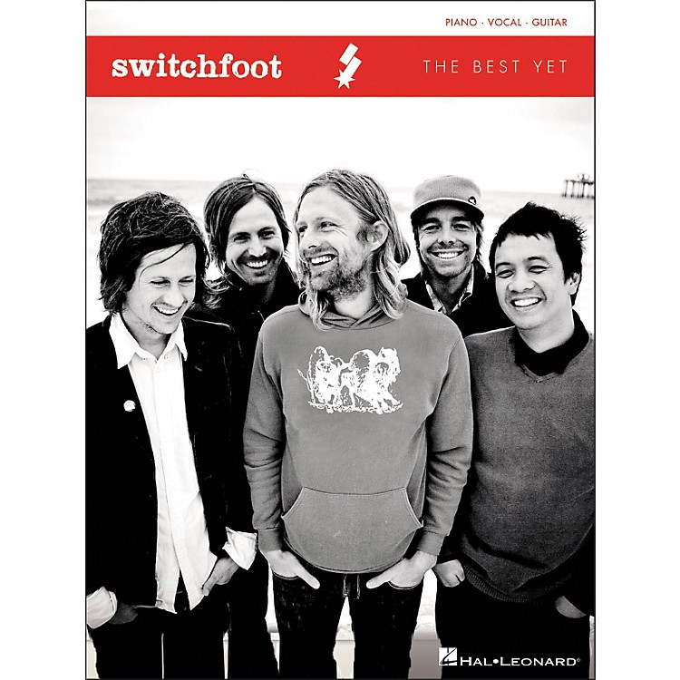 Hal Leonard Switchfoot - The Best Yet Songbook For Piano, Vocals, and Guitar