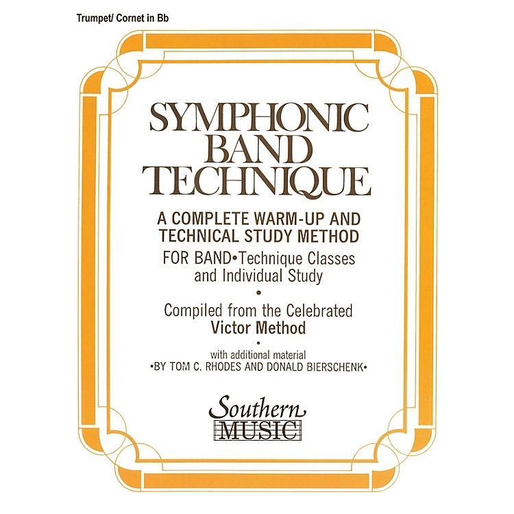 SouthernSymphonic Band Technique (S.B.T.) (Cornet/Trumpet) Southern Music Series Composed by John Victor