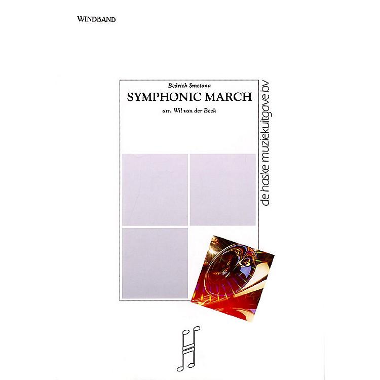 De Haske MusicSymphonic March Concert Band Level 5 Composed by Wil Van der Beek
