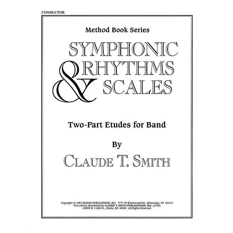 Hal LeonardSymphonic Rhythms & Scales (Two-Part Etudes for Band and Orchestra Conductor) Concert Band Level 2-4
