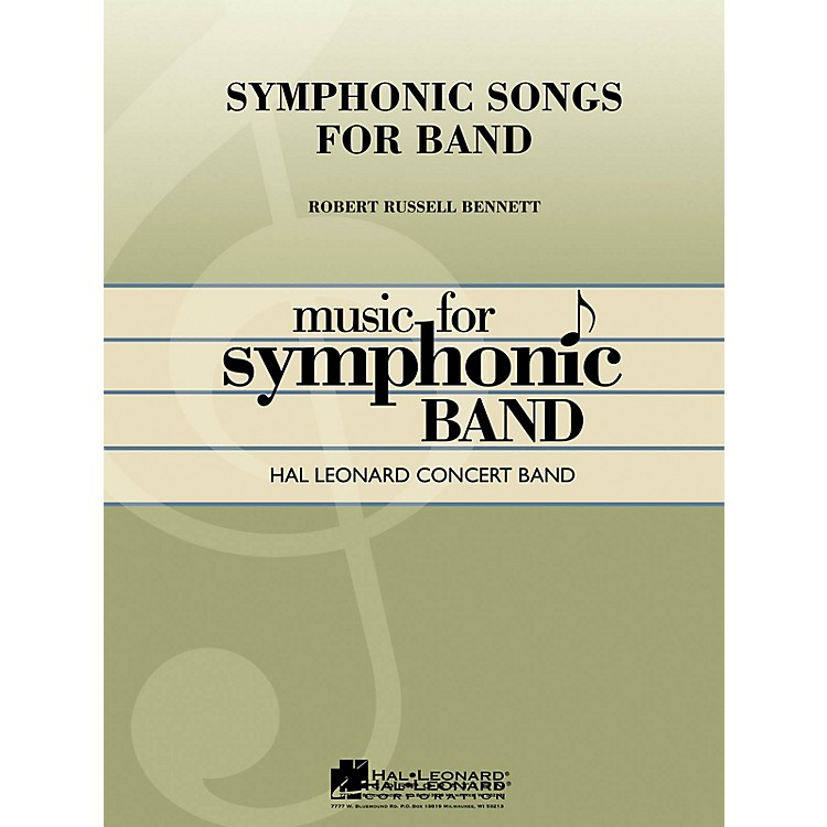 Hal LeonardSymphonic Songs for Band (Deluxe Edition) (Full Score) Concert Band Level 4 Arranged by George Ferencz