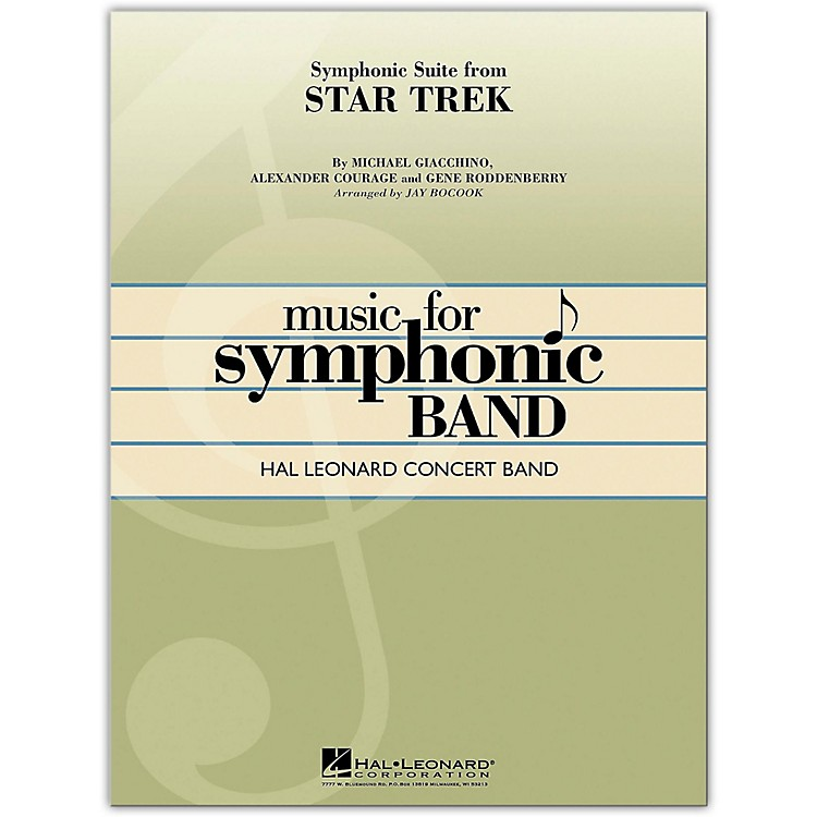 Hal LeonardSymphonic Suite from Star Trek Concert Band Level 4