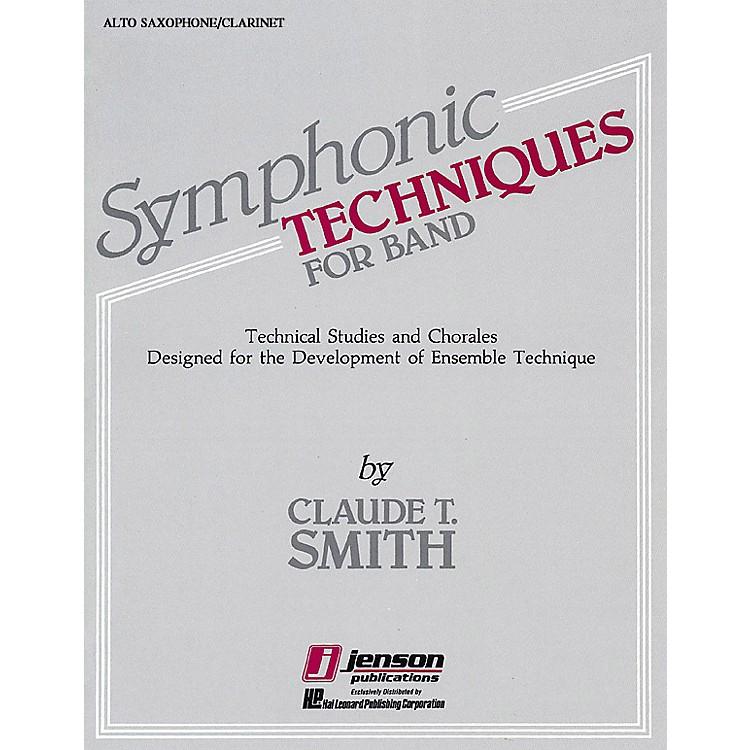 Hal LeonardSymphonic Techniques for Band (Eb Alto Sax & Eb Alto Clarinet) Concert Band Level 2-3 by Claude T. Smith