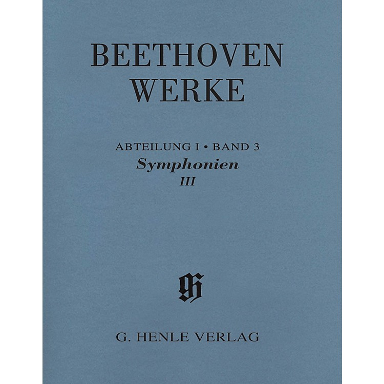 G. Henle VerlagSymphonies III Henle Edition Softcover by Beethoven Edited by Jens Dufner