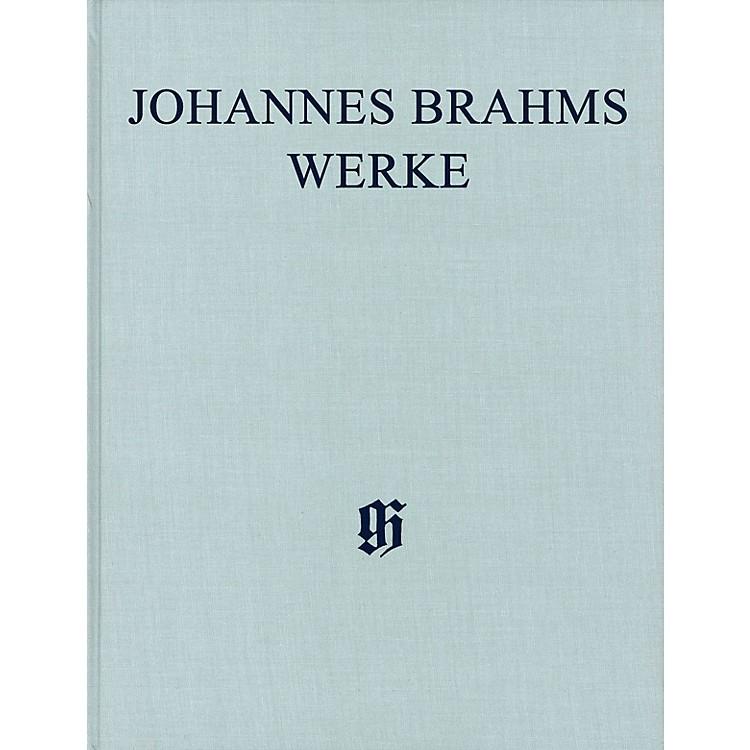 G. Henle VerlagSymphonies No. 1 in C minor, Op. 68 and No. 2 in D Major, Op. 73 Henle Complete Edition Series Hardcover