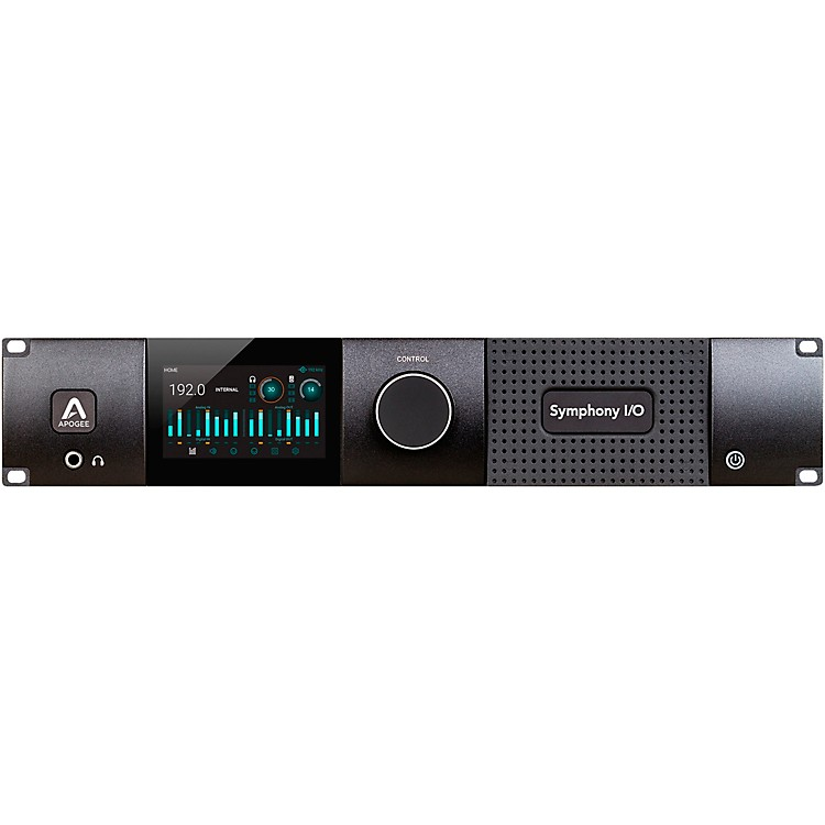 ApogeeSymphony I/O MKII Dante Chassis with 8x8 Analog I/O + 8x8 AES/Optical I/O + 2-Ch S/PDIF
