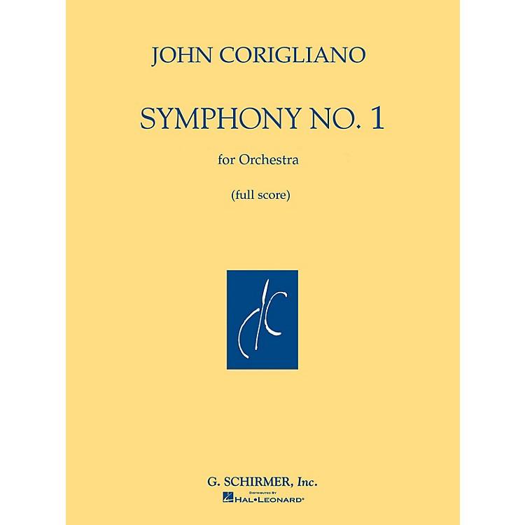 G. SchirmerSymphony No. 1 (Full Score) Study Score Series Composed by John Corigliano