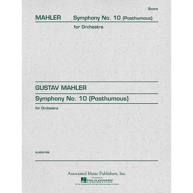 AssociatedSymphony No. 10 (Study Score) Study Score Series Composed by Gustav Mahler