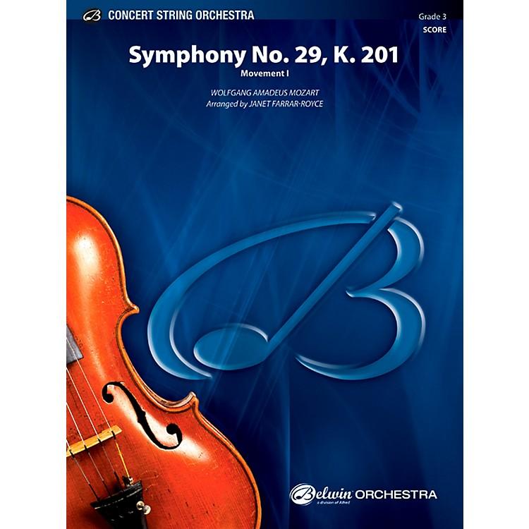 AlfredSymphony No. 29, K. 201 Concert String Orchestra Grade 3 Set