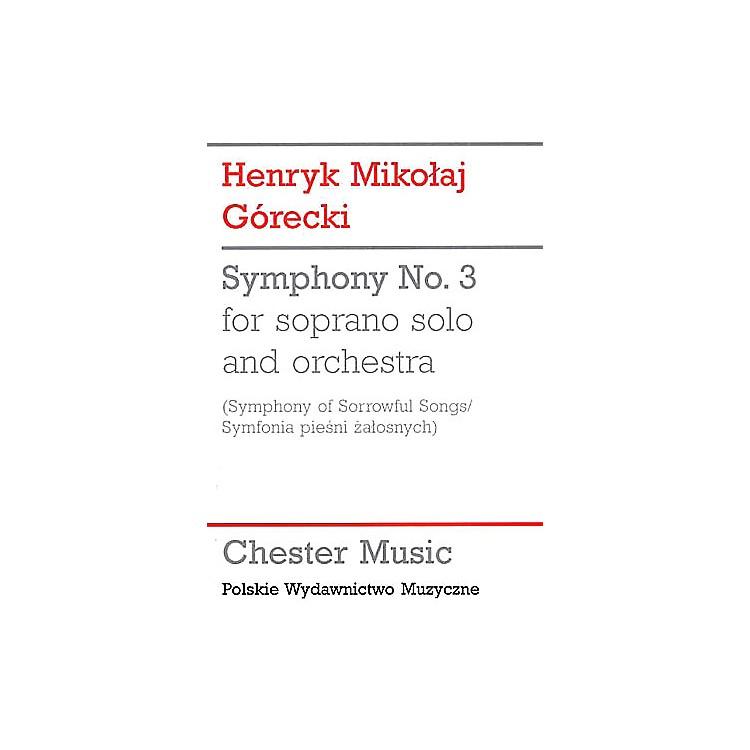 Chester MusicSymphony No. 3 (Symphony of Sorrowful Songs) Music Sales America Series by Henryk Mikolaj Gorecki