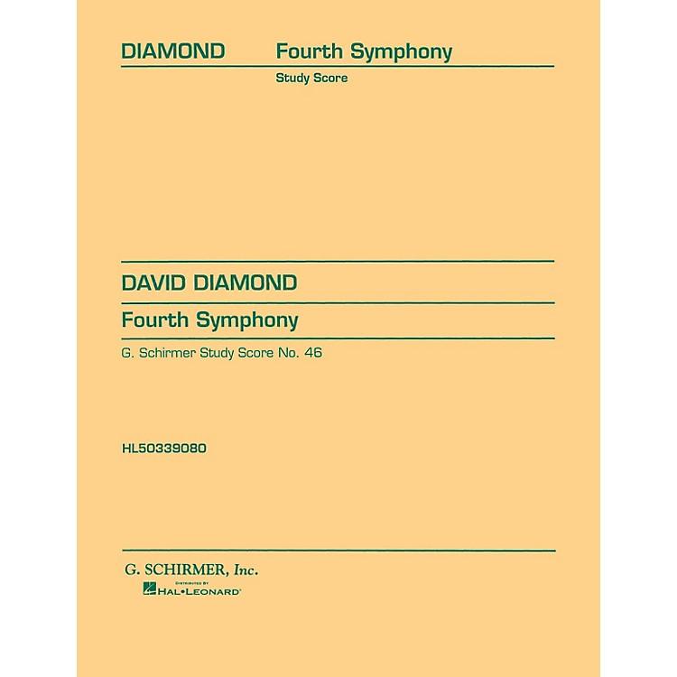 G. SchirmerSymphony No. 4 (1945) (Study Score No. 46) Study Score Series Composed by David Diamond