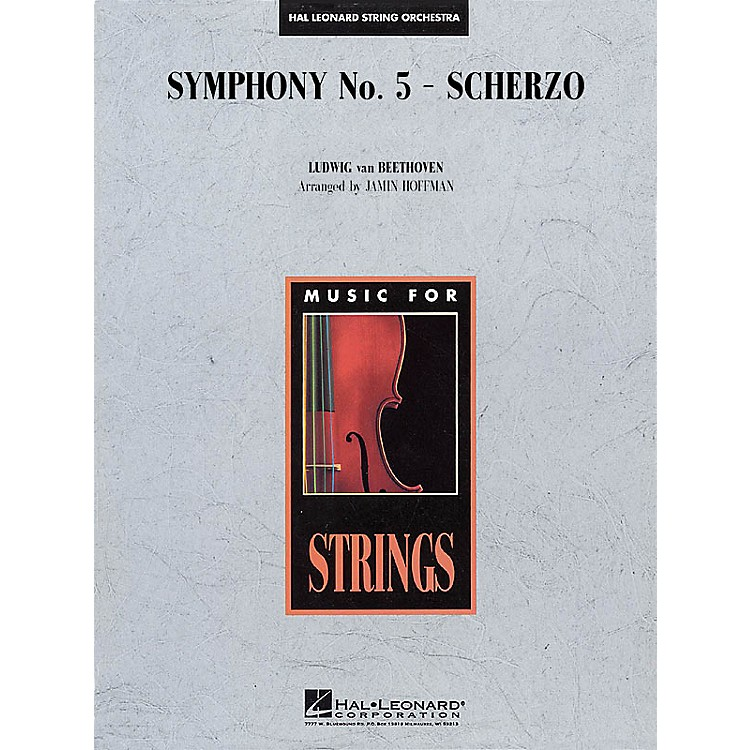 Hal Leonard Symphony No. 5 - Scherzo Music for String Orchestra Series Arranged by Jamin Hoffman