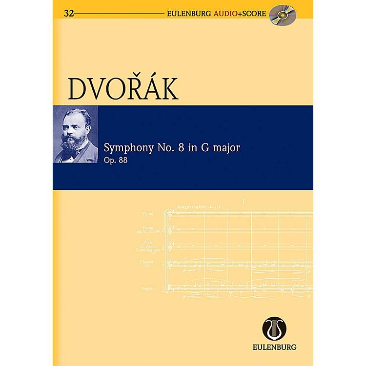 EulenburgSymphony No. 8 in G Major Op. 88 B 163 Eulenberg Audio plus Score Series Composed by Antonín Dvorák