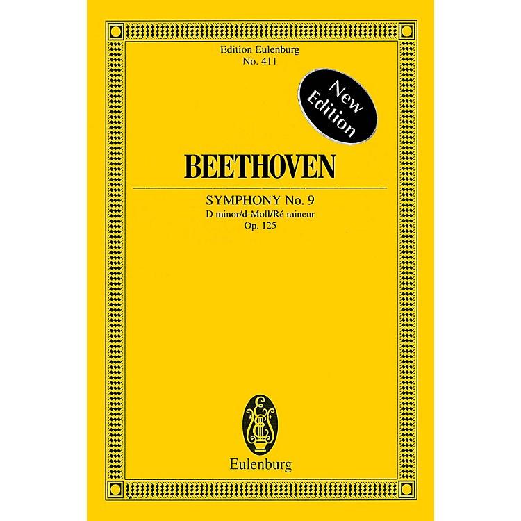 EulenburgSymphony No. 9 in D minor, Op. 125 Choral Schott Series Composed by Ludwig van Beethoven