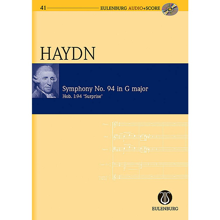 Eulenburg Symphony No. 94 in G Major (Surprise Symphony) Hob. I:94 London No. 3 Eulenberg Audio plus Score by Haydn