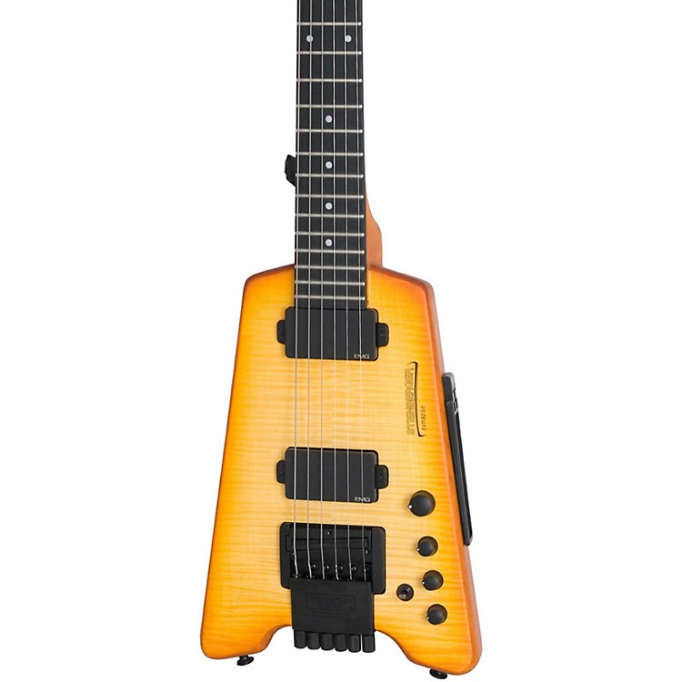 Steinberger Synapse ST-2FPA TranScale Custom Electric Guitar Transparent Amber