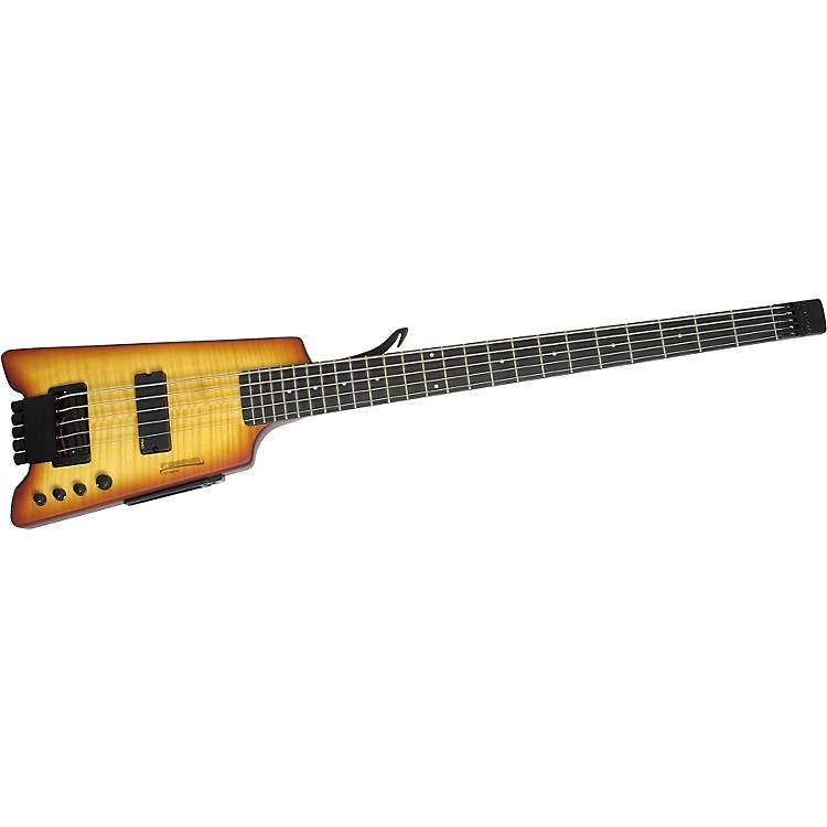 Steinberger Synapse XS-15FPA Custom 5-String Bass Satin Transparent Amber