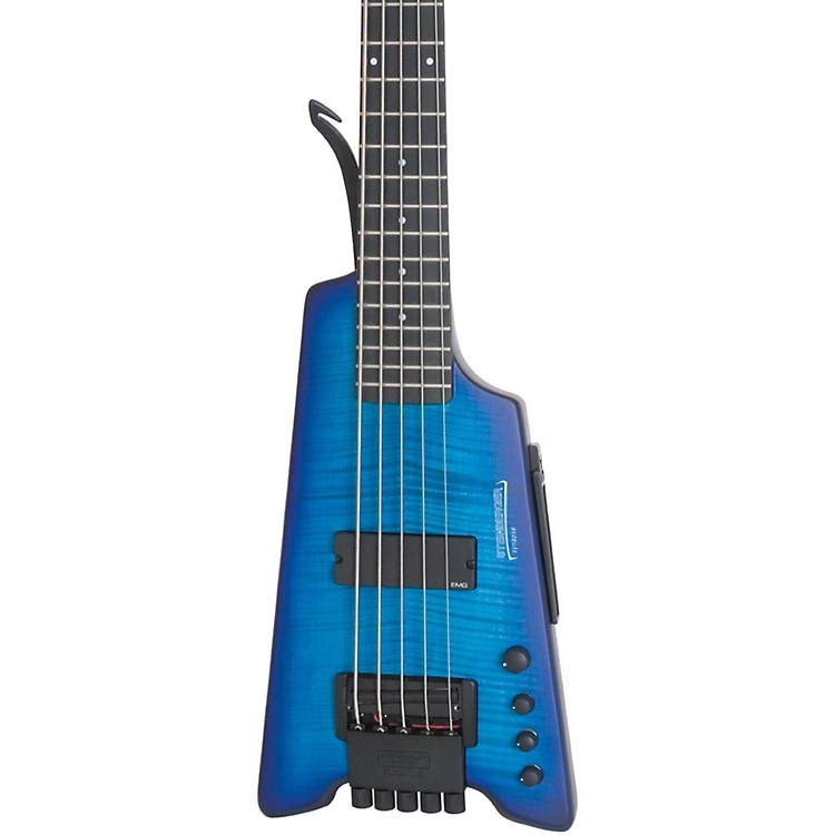 Steinberger Synapse XS-15FPA Custom 5-String Bass Transparent Blue