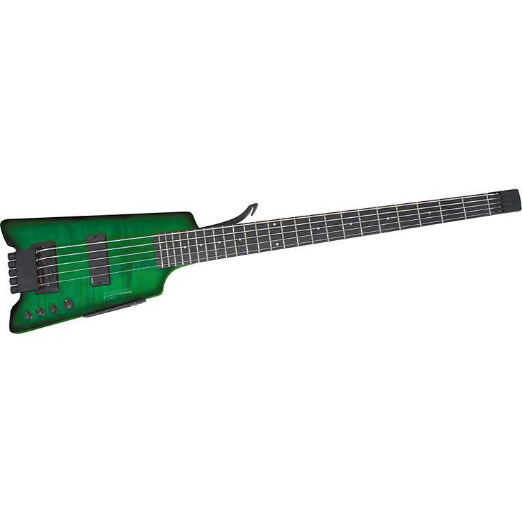 Steinberger Synapse XS-15FPA Custom 5-String Bass Transparent Green