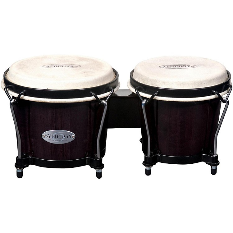 Toca Synergy Series Bongo Set Transparent Black