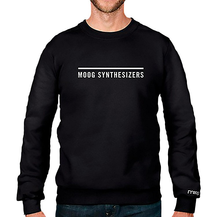 MoogSynthesizers Crewneck SweatshirtSmall