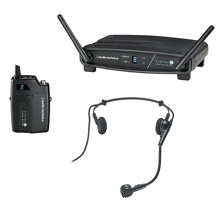 Audio-TechnicaSystem 10 2.4GHz Digital Wireless Headset System w/ PRO-8HECW