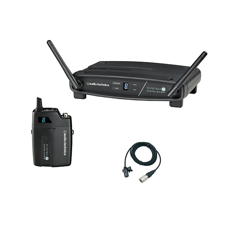 Audio-Technica System 10 2.4GHz Digital Wireless Lavalier System w/ MT830CW