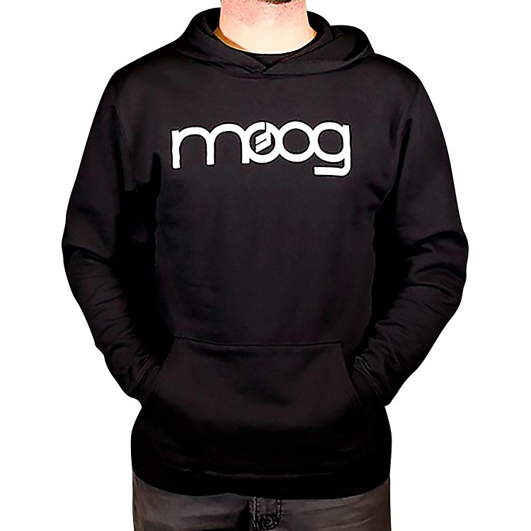 Moog System 15 Black Pullover Hoodie Small