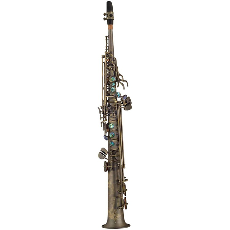 P. Mauriat System 76 One-Piece Professional Soprano Saxophone Dark Lacquer