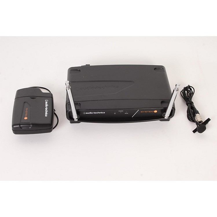 Audio-Technica System 8 Wireless System includes: UniPak Transmitter w/ Lavalier Microphone 169.505 MHz 888365908144