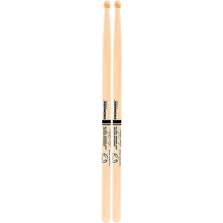 PromarkSystem Blue Scott Johnson Marching Snare Drum Sticks