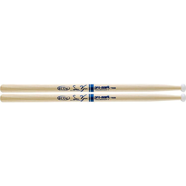 PromarkSystem Blue Sean Vega Signature Marching Tenor Sticks TS8