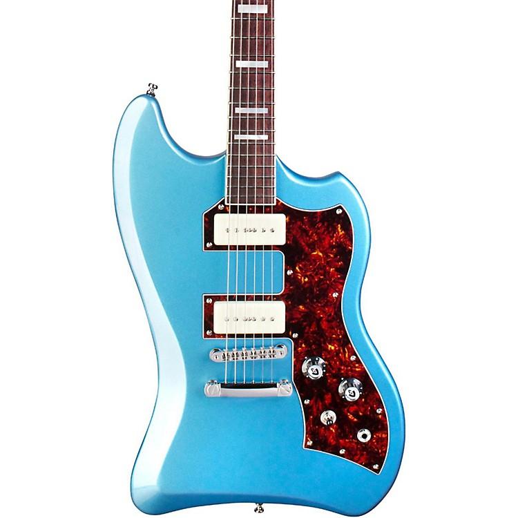 GuildT-Bird ST P90 BLU Solid Body Electric GuitarPelham Blue