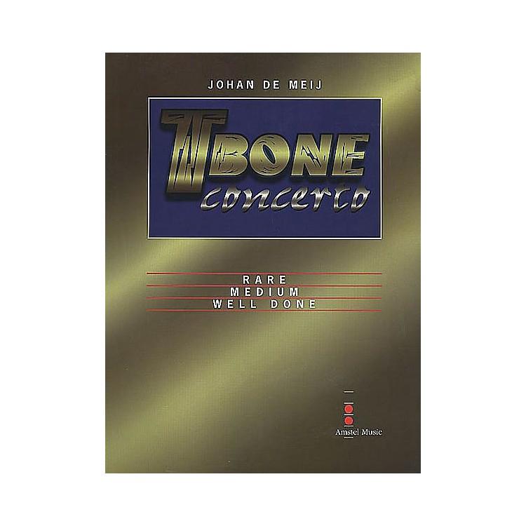 Amstel MusicT-Bone Concerto (Mvt. II - Medium: Parts Only) Concert Band Level 5-6 Composed by Johan de Meij