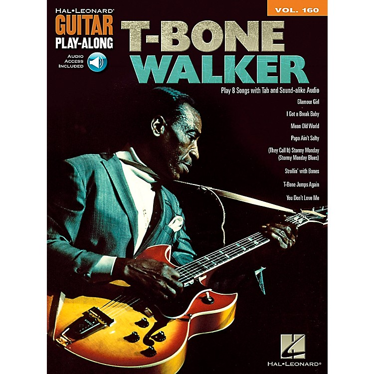 Hal Leonard T-Bone Walker - Guitar Play-Along Vol. 160 Book/CD