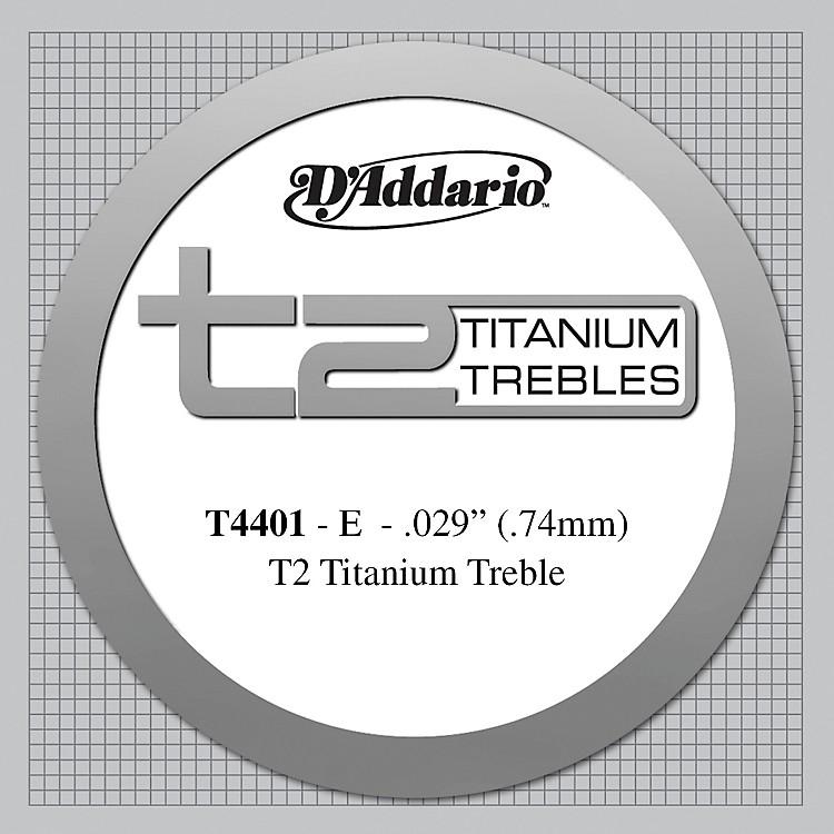 D'AddarioT4401 T2 Titanium X-Hard Single Classical Guitar String