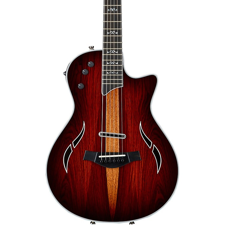 Taylor T5z Custom Cocobolo Acoustic-Electric Guitar Nickel Hardware Natural