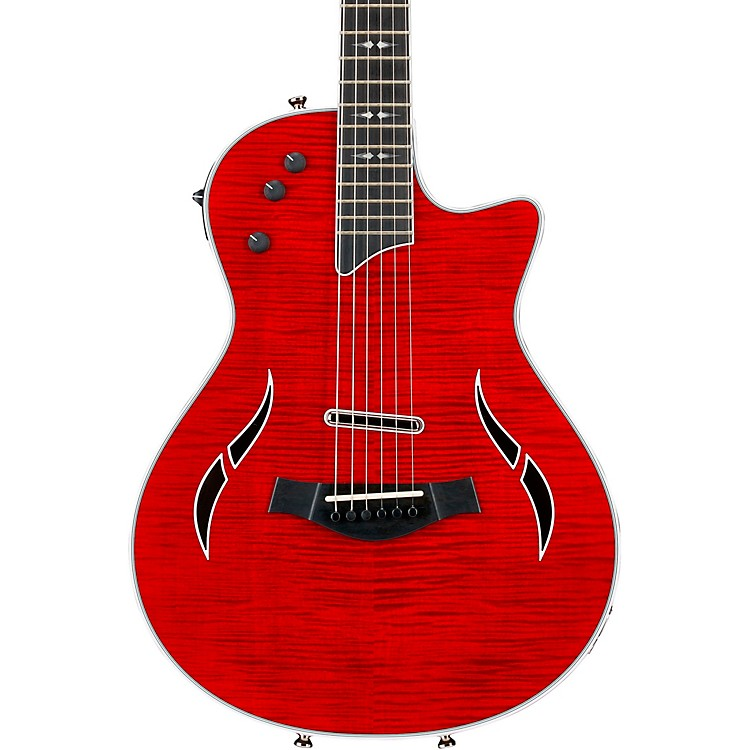 Taylor T5z Pro Acoustic-Electric Guitar Borrego Red