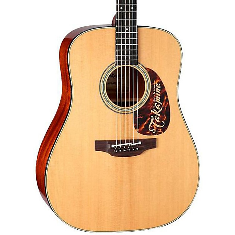 Takamine TAKEF340STT Thermal Top Dreadnought Acoustic-Electric Guitar Natural